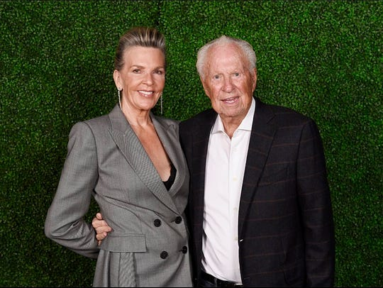 Len and Rebecca Tweten of the Tweten Foundation, are