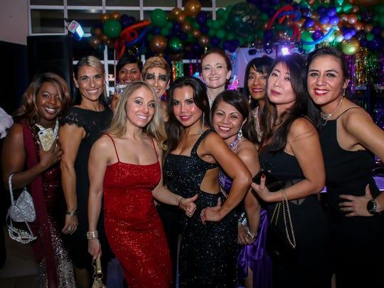 People enjoy the 23rd annual Cordova Mall Ball on Saturday,