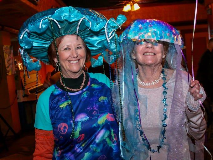 The Krewe of Wrecks host their Mardi Gras ball at Castaways