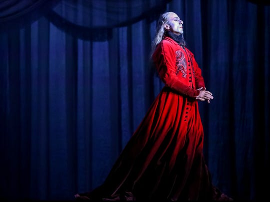 "The Milwaukee Ballet will revive Michael Pink's ""Dracula"" to open its 2018-'19 season. Davit Hovhannisyan is seen here in the title role during a past production."