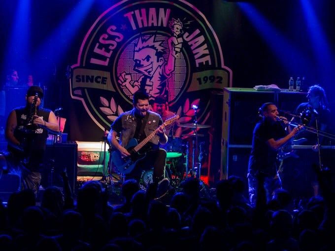 Less Than Jake headlines at Vinyl Music Hall on Friday,