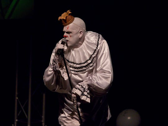 Puddles Pity Party returns to the Vinyl Music Hall stage Thursday.