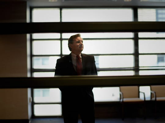 Donald H. Sebastian, PhD, Pres. and CEO of the New Jersey Innovation Institute, NJIT, in the NJIT Fenster Hall building.