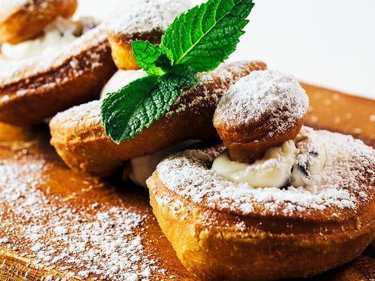 Cannoli doughnuts at Hash Kitchen