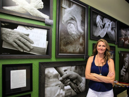 Heidi Thamert, co-owner The Downtown Art Gallery, Titusville.