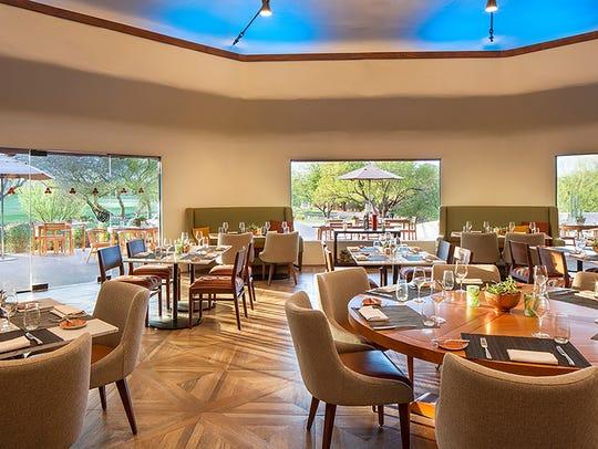 The Palo Verde Restaurant at Boulders Resort & Spa.