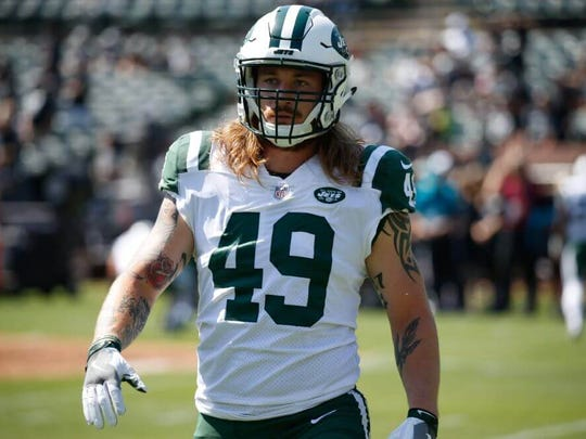 "Jets linebacker Dylan Donahue says his February DWI arrest was a ""wake-up call."""