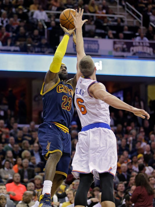 Knicks Cavaliers Basketball (2)