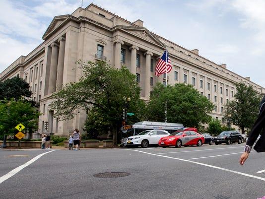 AP FEDERAL BUILDING DOJ A USA DC