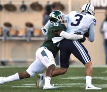 Michigan State defensive back Tyson Smith said on ...