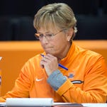 Tennessee head coach Holly Warlick during Media Day on Thursday, October 27, 2016. 7, 2016. (SAUL YOUNG/NEWS SENTINEL)