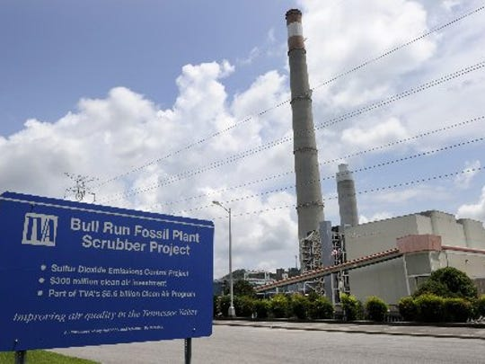 TVA's Bull Run Fossil Plant
