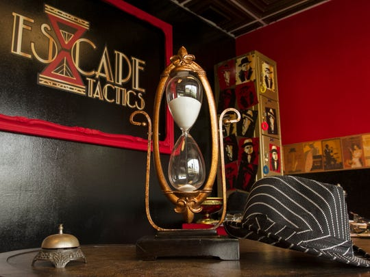 Escape Tactics in Fort Myers, offers a live game experince where participants look for clues to figure out how to escape from a room. They have themed rooms including a Speakeasy and bank heist scenario.