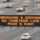 "ADOT's ""peas and guac"" signs, shown Nov. 28, 2015, are a reference to a much-debated New York Times recipe."