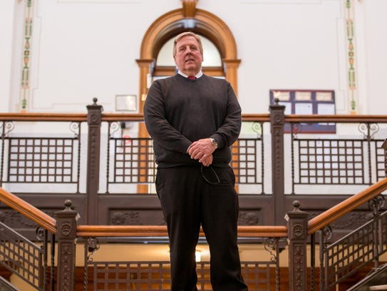 Bradford County Commissioner Doug McLinko  supports