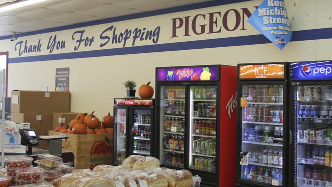 The interior of the Pigeon Family Market is seen on Oct. 1, in Pigeon. After operating for 40 years, the Pigeon Family Market announced it will be closing at the end of the month. Shirley Ashmore, the general manager for the market, said that ever since the Meijer Supermarket in Bad Axe opened, their sales have gone down. The closure leaves the village of Pigeon without a grocery store to call its own, with residents having to travel outside of town to do their shopping.