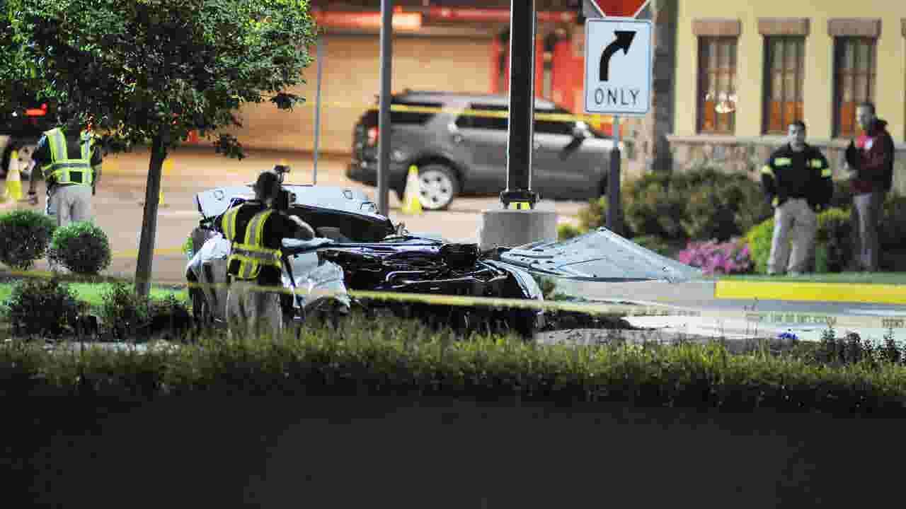 Video: Scene of Route 4 East fatal crash in Paramus
