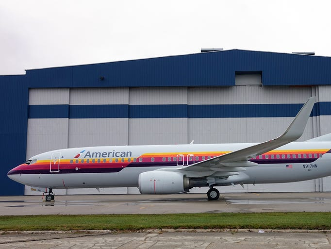 American Airlines Honors Past With Heritage Plane Paint Schemes