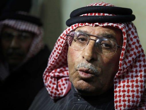 Safi al-Kaseasbeh, father of Jordanian pilot Lt. Mu'ath