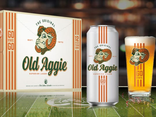 Old Aggie Superior Lager, Colorado State University,