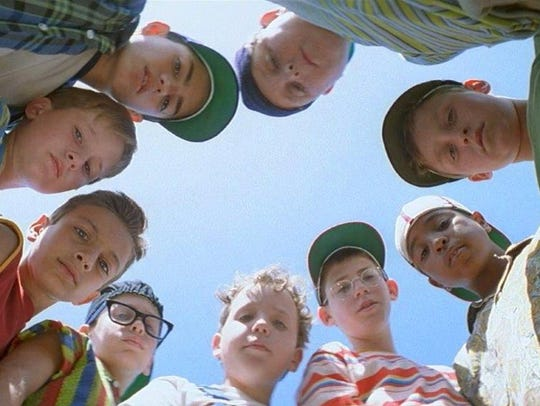 "Here's looking at you,  kids: The cast of ""The Sandlot"""