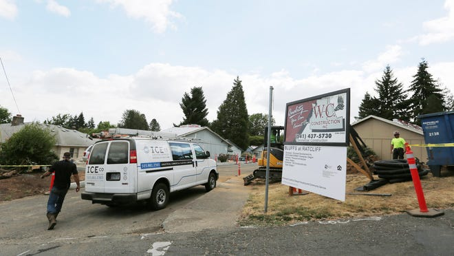 The Bluff Apartments, HUD senior and disabled housing, is being renovated. Residents said that because of the renovations they were told that they can't park in their lot or disabled spaces. This has forced some residents to park on the street, Bluff Street SE, which has a steep hill.