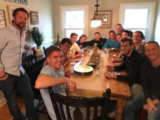 Furman University soccer players to spend spring break