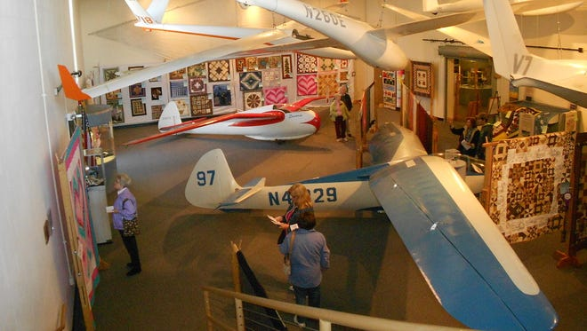 The Piecemaker Quilters of Elmira will hold their annual show Friday through Sunday at the National Soaring Museum on Harris Hill.