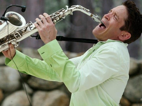 Dave Koz headlined the 15th annual Idyllwild Jazz in the Pines in 2008