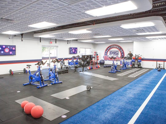 Inside Staunton's new gym F45 on Statler Boulevard.