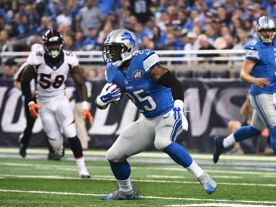 Detroit Lions Theo Riddick A Fantasy Football Sleeper