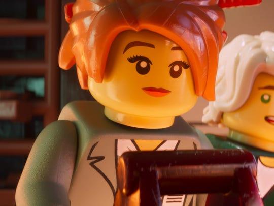 "Olivia Munn voices Koko in ""The LEGO Ninjago Movie."""