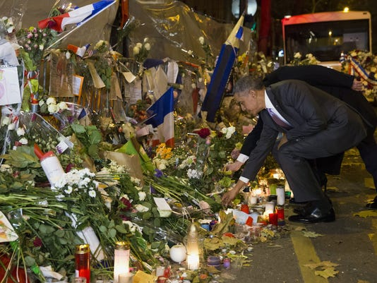 AP OBAMA PARIS ATTACKS I FRA