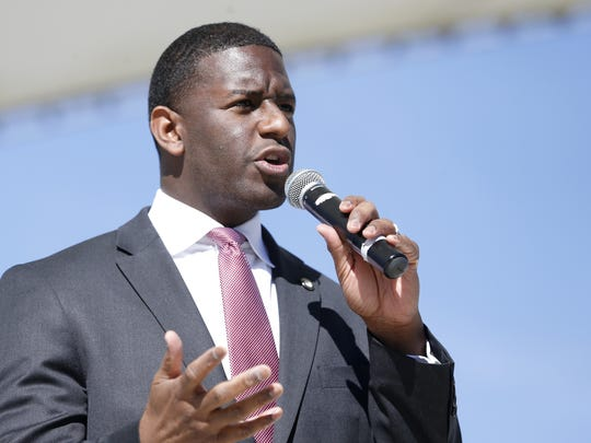 Mayor Andrew Gillum.