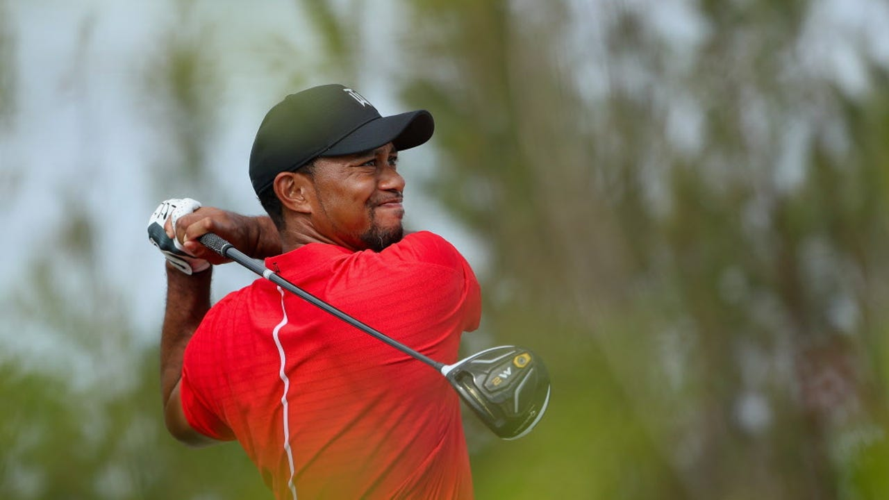 Tiger Woods explains his new passion for designing golf courses.
