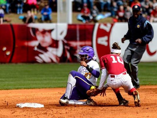 LSU Alabama Softball