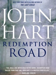 """John Hart's latest book is """"Redemption Road."""""""