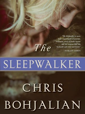 """Cover of """"The Sleepwalker,"""" upcoming novel by Vermont author Chris Bohjalian."""