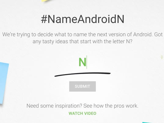 Name AndroidN