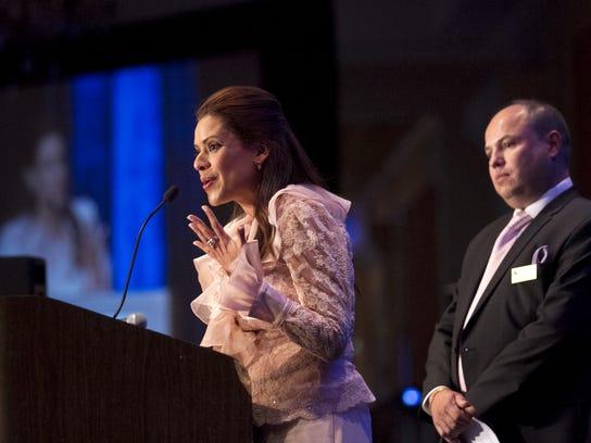 D'Latinos and Media Vista Group founders Mayela and
