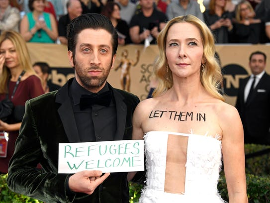 'Florence Foster Jenkins' star Simon Helberg and wife