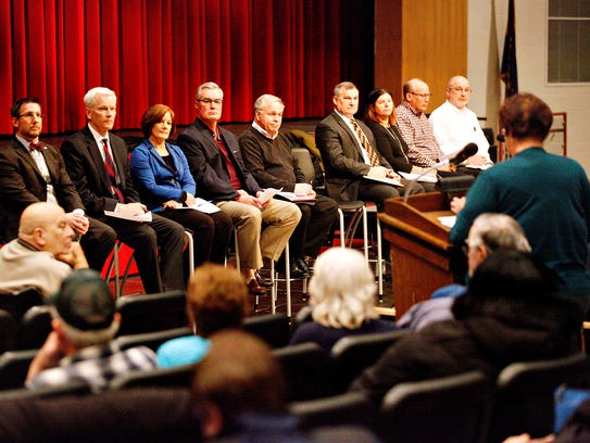 More than 150 York County residents attend a town hall