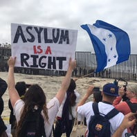 Migrant caravan:  No room for asylum seekers at border crossing, U.S. says