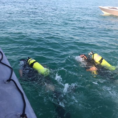 The Okaloosa County Sheriff's Office Dive Unit recovered