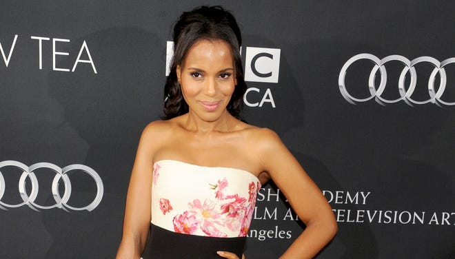 Kerry Washington arrives at the BAFTA Los Angeles TV Tea on Saturday.