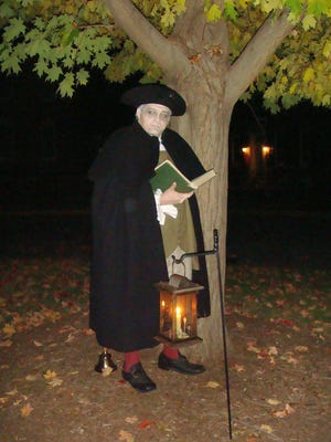 Judge Samuel Chew is just one of the ghostly characters that will be highlighted in Dark Dover on Friday and Saturday on The Green in Dover.