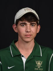 Jeffrey Peters, player of the year, Franklin D. Roosevelt boys golf