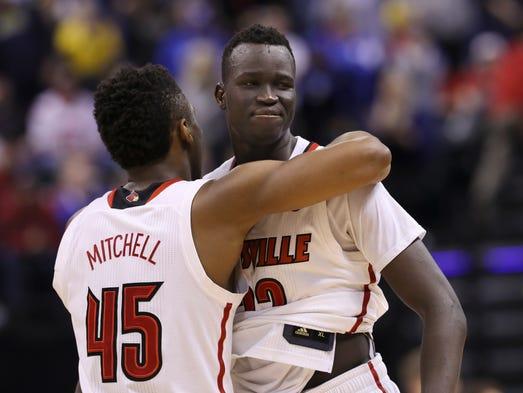 Louisville basketball   Source: Jordan Fair to replace Mike Balado on Rick Pitino's staff