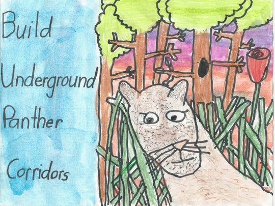 """Leah Chung took third place in the 7-8 category of 12th Annual Children's Art Contest """"Coloring the Earth."""""""