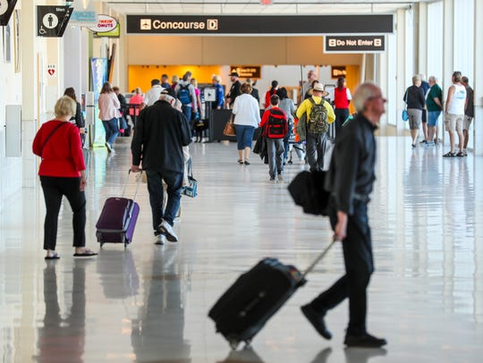 Southwest Florida International has some of the biggest seasonal swings in passenger demand of any airport in the country.